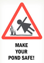 Make your pond safe logo